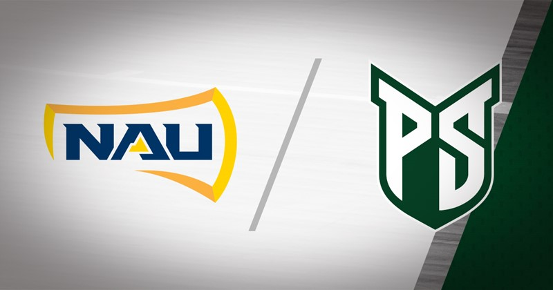 Northern Arizona logo and Portland State logo