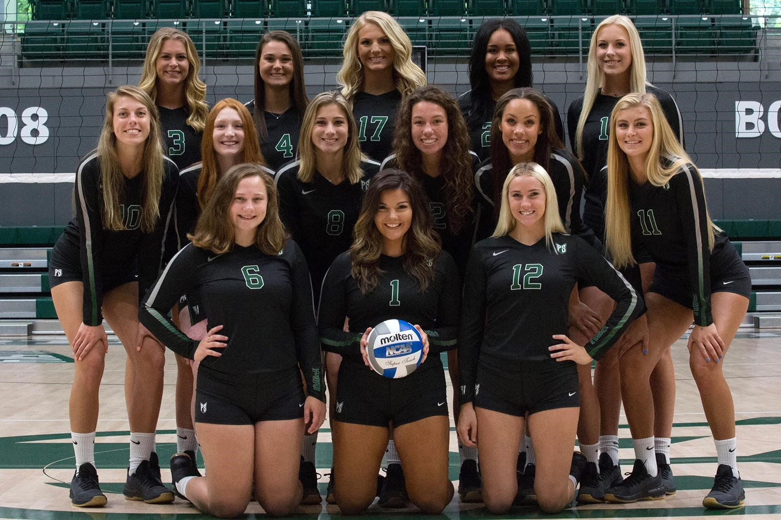 2018 Women S Volleyball Roster Portland State University Athletics